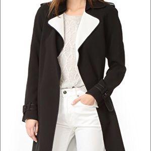 e8cf0cd40d Theory Jackets & Coats | Laurelwood Crepe Trench Coatm | Poshmark